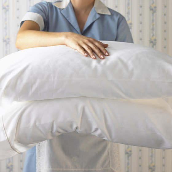 Bring your own pillow and pillowcase for a clean sleep.