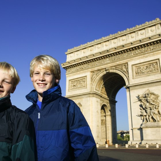 Show the iconic sights of Europe to your teens.