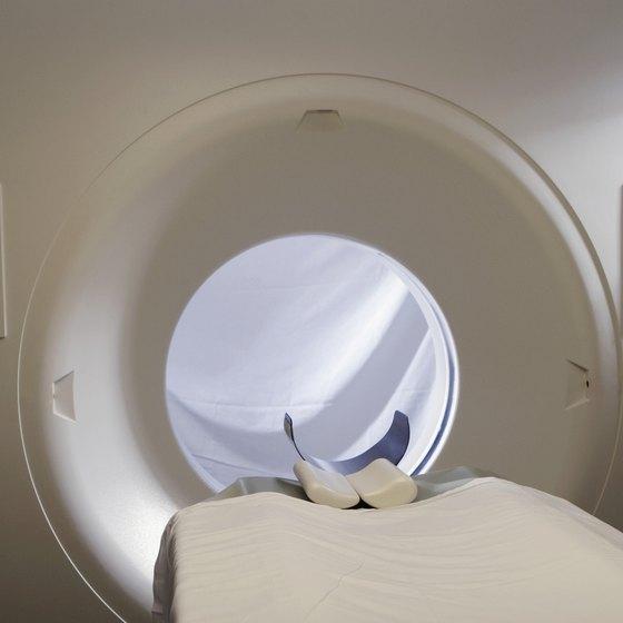 MRI Machine in Hospital
