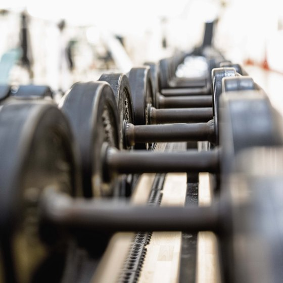 Use dumbbells as an alternative to a barbell.