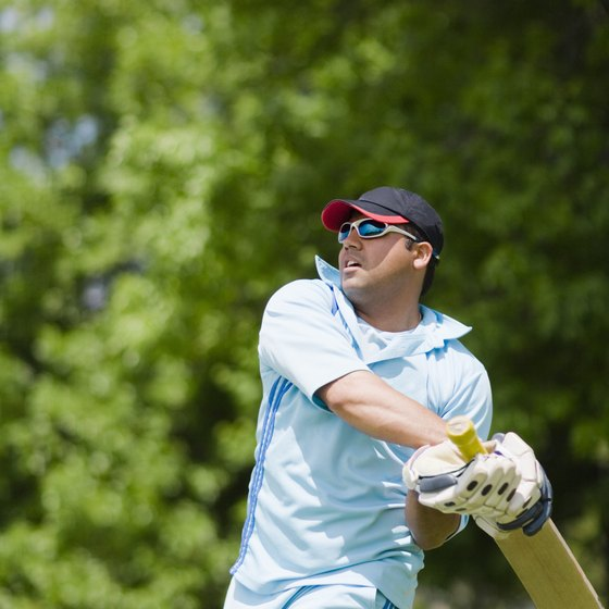 Cricket batsmen use a variety of muscles.