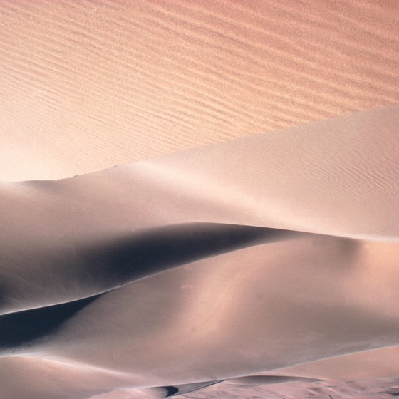 The Sahara is the world's largest nonpolar desert environment.