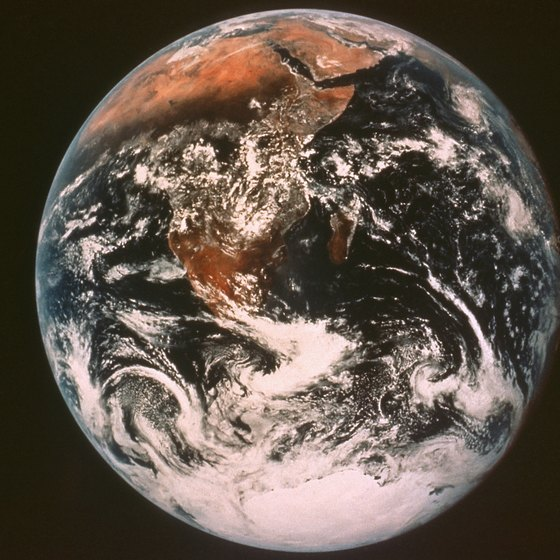 The SmartGlobe contains an array of information about planet Earth.