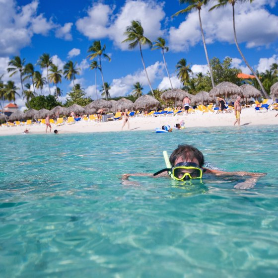 Snorkeling and diving are popular activities for visitors in the Dominican Republic.