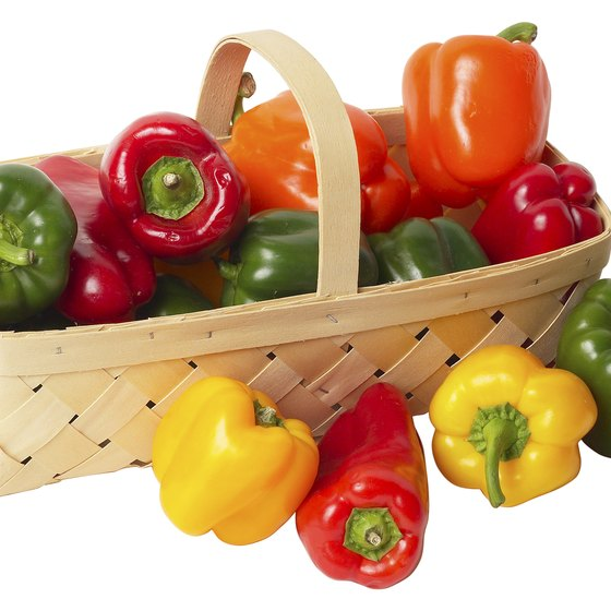Available in a variety of colors, bell peppers are loaded with nutrients.