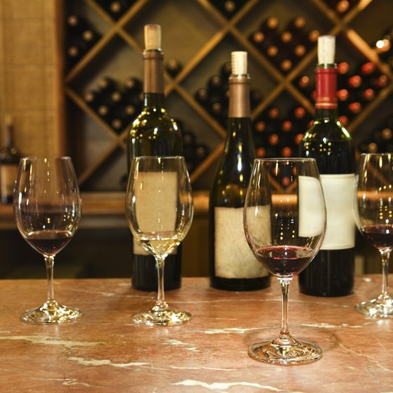 American interest in gourmet foods and wines provides opportunities for wine bar businesses.