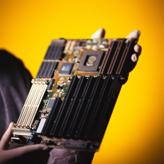 Your computer's motherboard can be easily damaged by liquid or power surges.