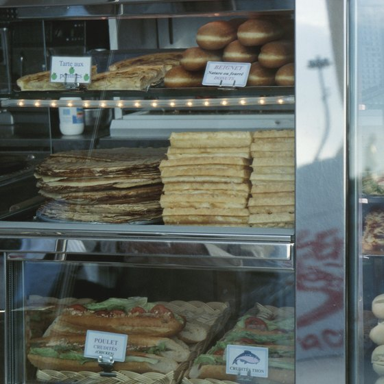 Effective displays increase sales for aspiring bakers.
