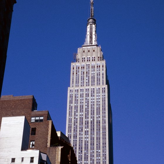 The Empire State Building, one of New York City's iconic attractions.