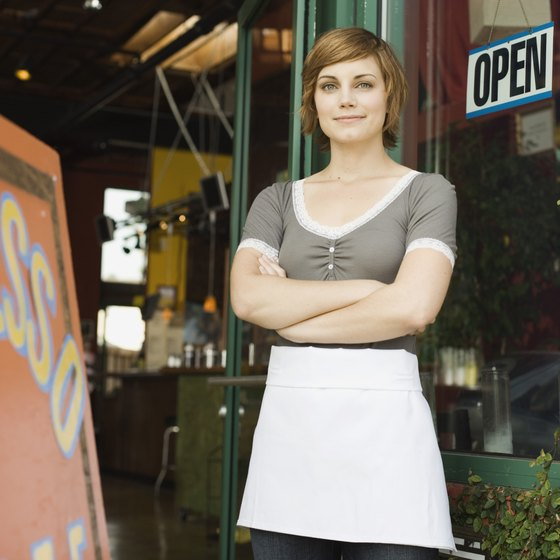 A small business owner has ultimate oversight responsibility for every aspect of her business.