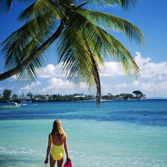 Shoreline snorkeling sites are abundant in the Caribbean.