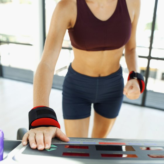 Increase the treadmill incline to target your thighs.