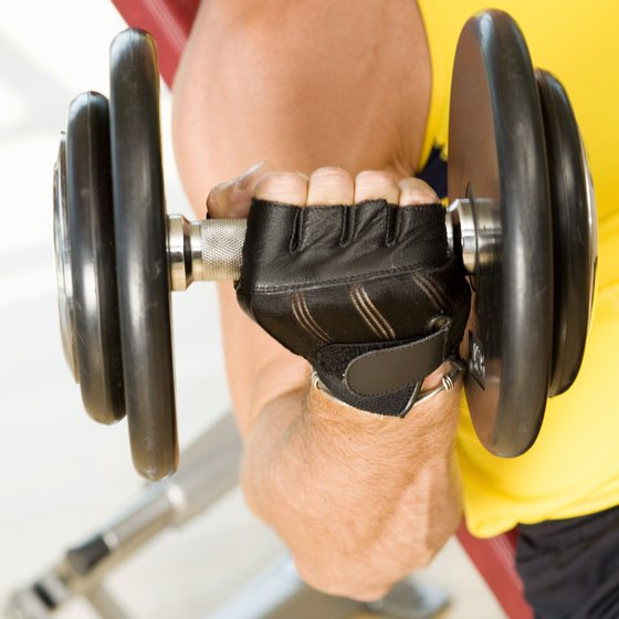 Train with weights at night for better results.