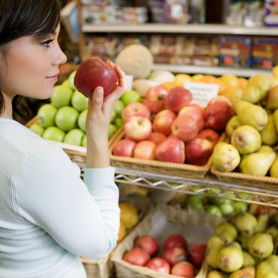 Fruit is typically shipped directly from vendors to increase store shelf time.