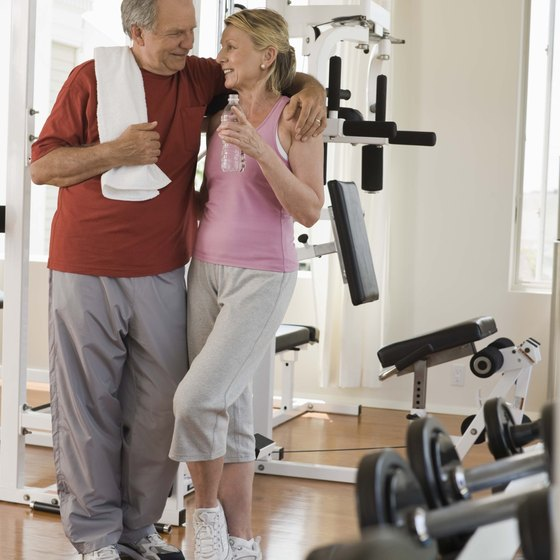 A home gym encourages consistent exercise.