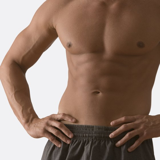 Losing chest fat is possible with diet and exercise.