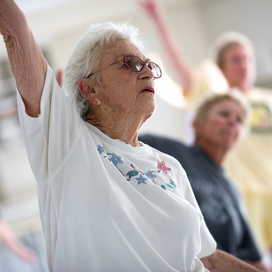 Exercise and stretching can help improve your flexibility in old age.
