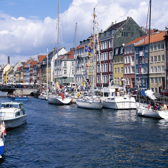 Copenhagen is home to scenic harbors.