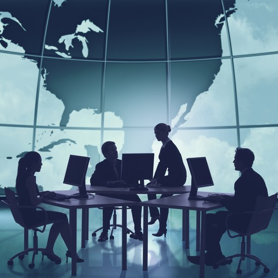 A transnational IT strategy supports high levels of global collaboration.