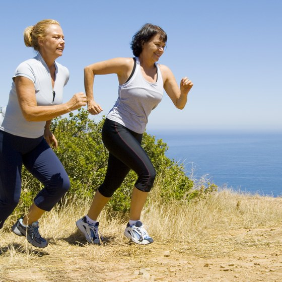 Vigorous activities, such as running, provide increased health benefits in half the time.