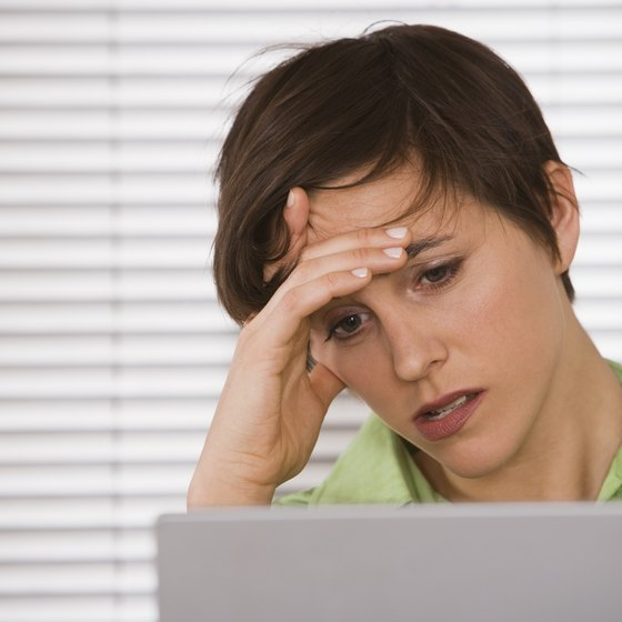 Computer trouble can be a frustrating source of delays for a business.