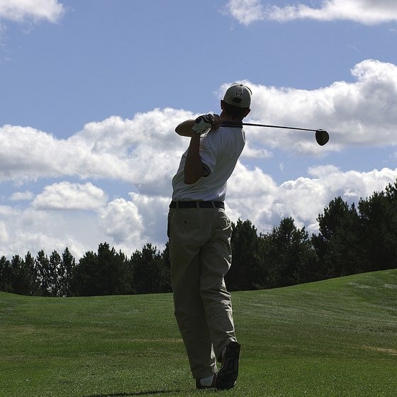 Golf is a complex and challenging activity.