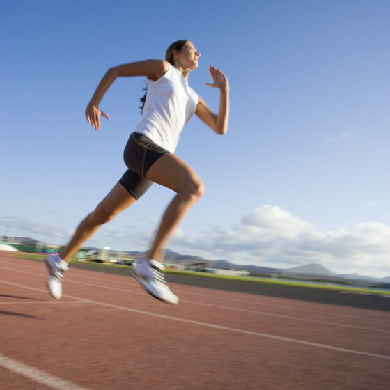 Top-end speed is developed through explosive exercises.