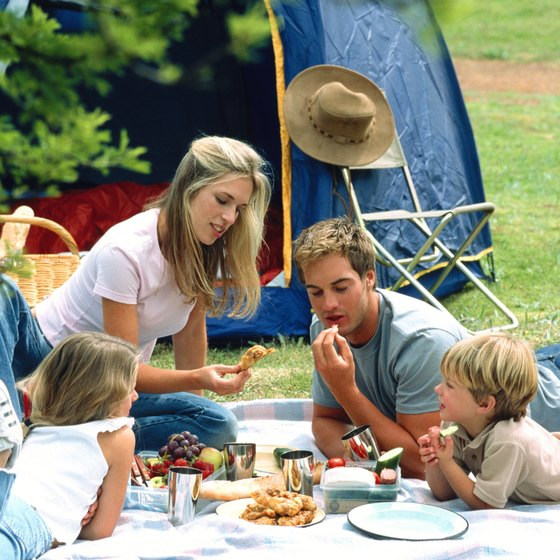 Keeping food away from your tent is key to keeping bugs away.