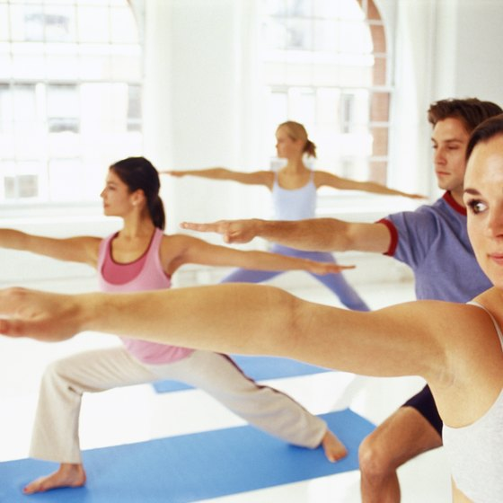 Yoga classes combat the sedentary lifestyle of a student.