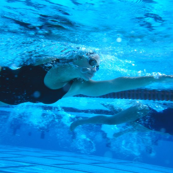 Good technique is important for competitive swimming success.