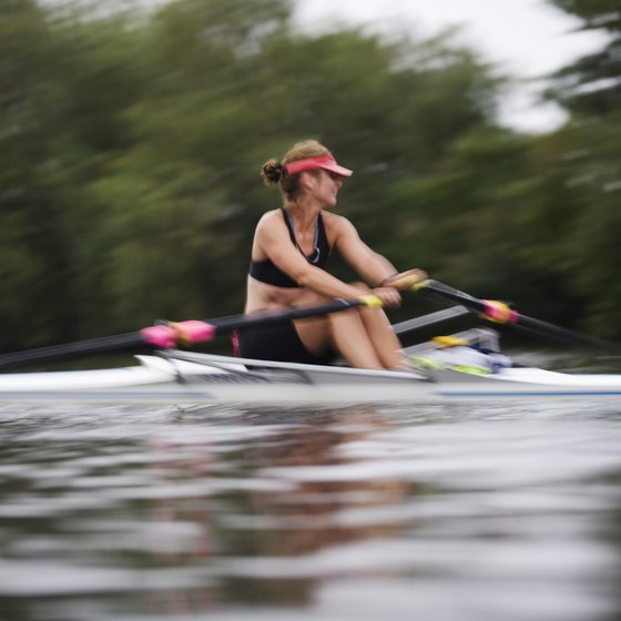 Rowing can help you lose body fat.