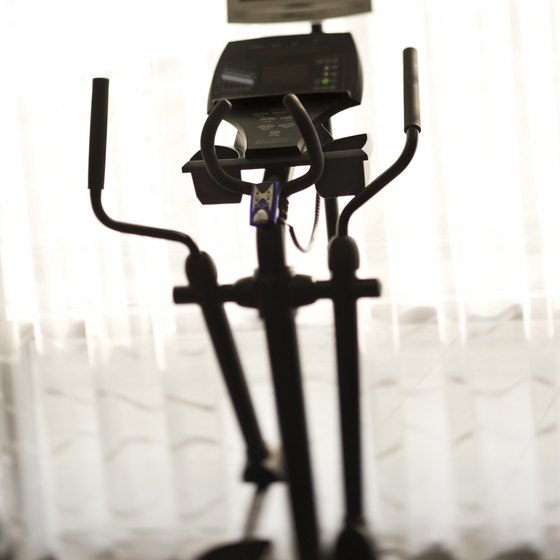 Using an elliptical is easy on your joints.