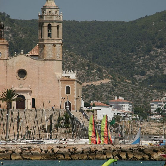 Sitges, Spain, is a short trip from Barcelona.