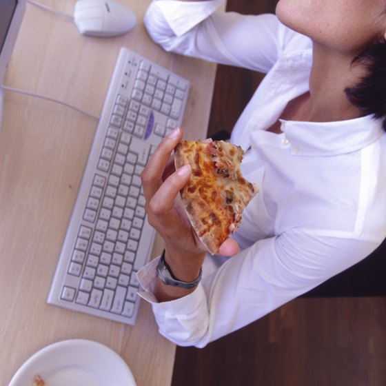 Convenience foods like pizza contribute to high sodium intake.