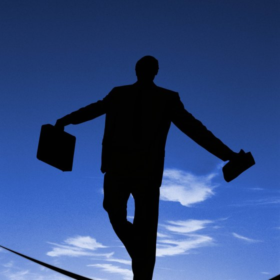 Walking a tightrope can develop your coordination.