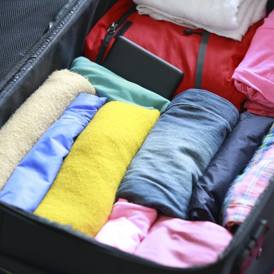 Use a packing checklist so you don't forget anything.