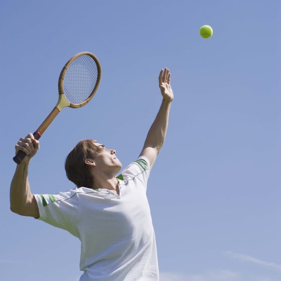 You can burn 1,200 calories in about two hours playing singles tennis.