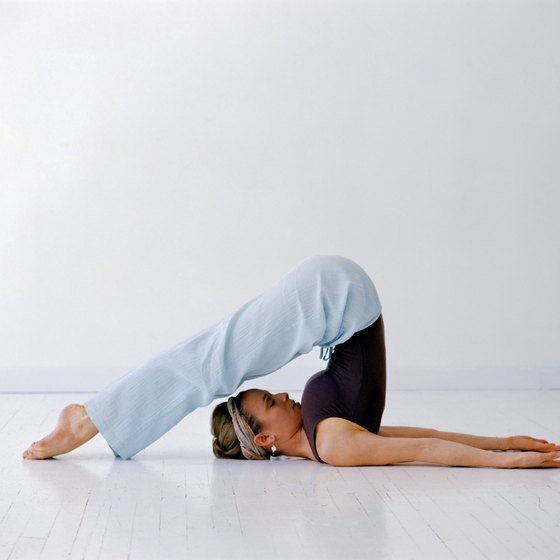 The Plow pose can help relieve sinus pressure.