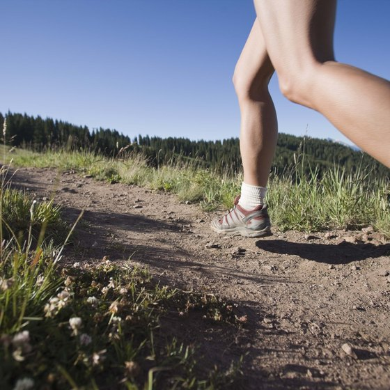Short, tight calves can affect your stride.