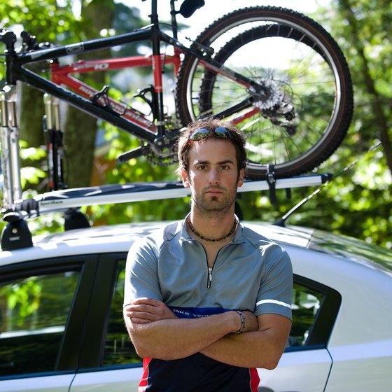 Lockable bike carriers help you take your bike everywhere.
