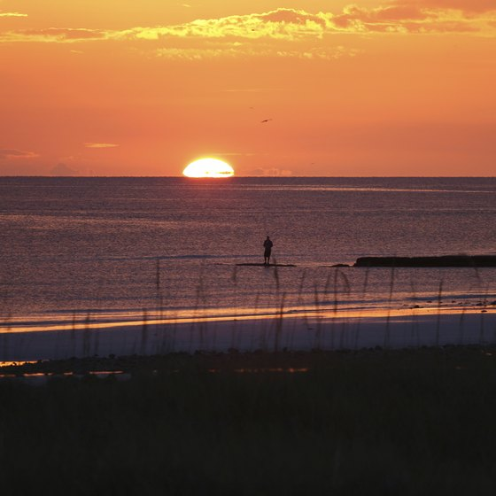 Florida's Atlantic Coast has better known beaches, but lacks the sunsets of the Gulf.
