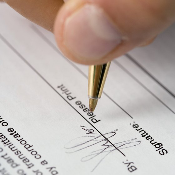Before you sign a contract, make sure the terms are favorable to your business.