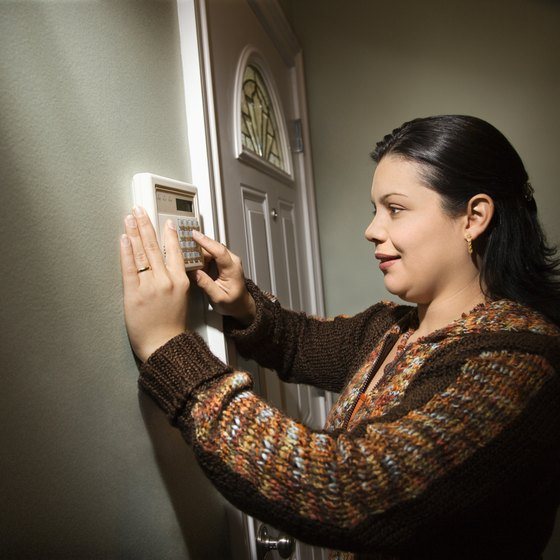 Guardian and ADT home security services keep your home protected.