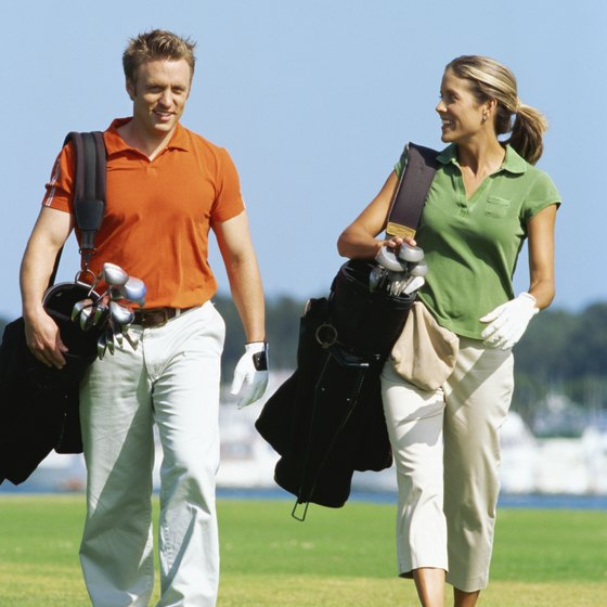 Golf is a healthy sport for nearly all age levels.