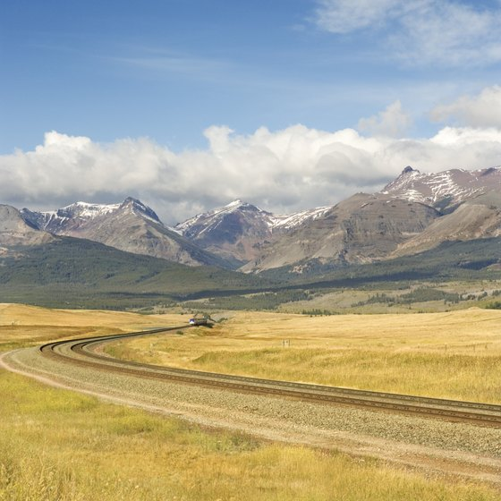 Taking a train from Montana to Colorado is an indirect, pricey route.