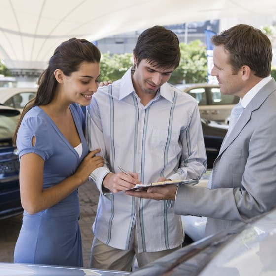 Car sales is traditionally commission-based work.