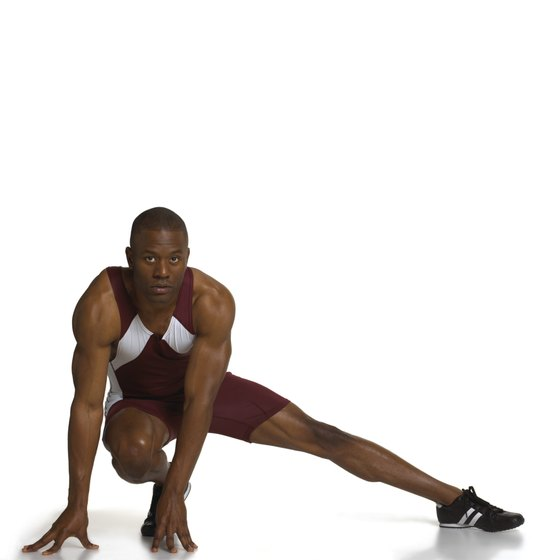 Side lunges emphasize on outer thighs.