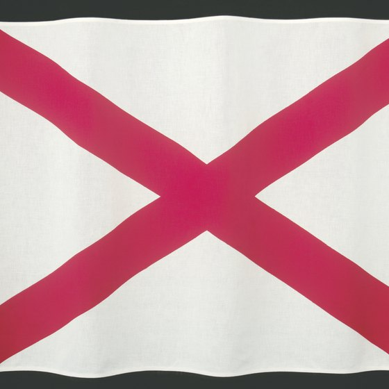 Thanks to extensive inland waterways, Alabama was a major exporter of plantation produce.