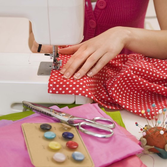 The use of fabric as packaging is one of many creative ways to brand your handmade product.