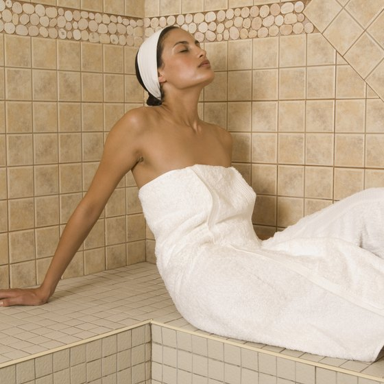 Relaxing in a sauna may relieve pain and be good for your heart.